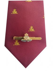 Royal Artillery Tie & Tie Clip Set p289